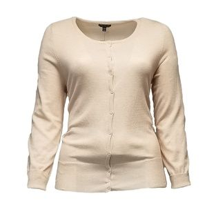 Lane Bryant Cream Cardigan Sweater 18/20